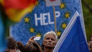 протест в Будапеште