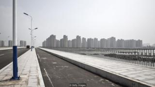 Chinese eerie cities