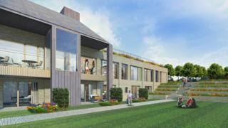 Visual impression of new hospice