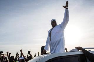 Bw Barrow alimshinda vibaya Bw Jammeh katika uchaguzi mkuu