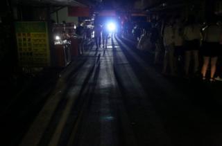 停電使給民眾的生活帶來不便。
