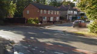 Belle Vale Road junction with Lee Vale Road