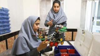 अफगानी किशोरी