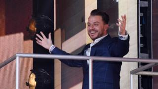 Dapper Laughs whose real name is Daniel O'Reilly