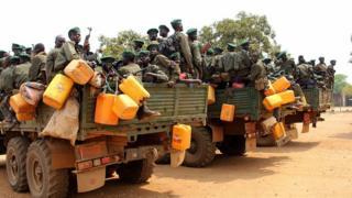 Rebelles, Soudan du Sud
