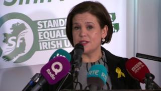 Mary Lou McDonald was confirmed as the nominee for Sinn Féin president on Saturday