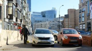 Парковка - одна из главных проблем Киева
