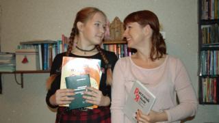 Екатерина Белова с дочерью Златой