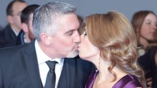 Paul Hollywood and his wife Alex Hollywood