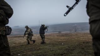 Войска на Донбассе
