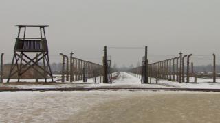 The Auschwitz-Birkenau concentration camp
