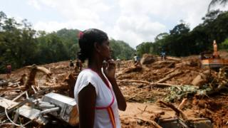 Sri Lanka floods: Residents fearful as some-more sleet forecast