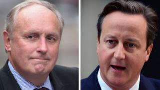 David Cameron ve Dacre