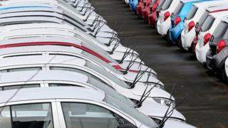 Car shipments from the UK