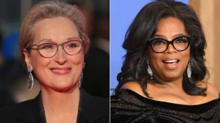 Meryl Streep and Oprah Winfrey
