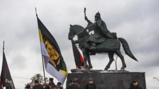 Памятник Ивану Грозному, установленный в Орле 14 октября 2016 года