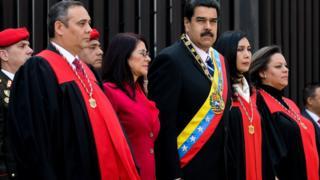 Nicolás Maduro en el TSJ