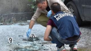 взрыв в Риме