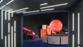 The Wonderlab exhibits
