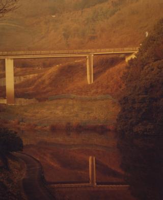 A bridge across a river