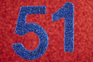 The number 51