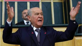 Devlet Bahçeli: Türk gençliğine ateizmin bir önceki istasyonu olan deizm karası çalanlar, yüzleri varsa utansınlar