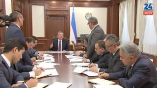 Президент Мирзиёев қабулида