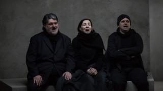 Vangelis Kotsos, Nota Kaltsouni and Nikos Menoudakis