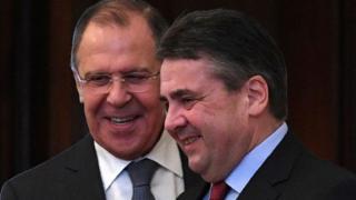 """Лавров и Габриэль во время пресс-конференции обращались друг к другу на """"ты"""""""