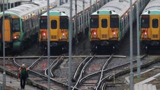Southern trains in London