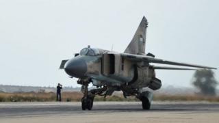 МиГ-23 аскер учагы советтик өндүрүштөн чыгарылган.