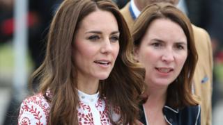 Duchess of Cambridge and Rebecca Deacon in 2016