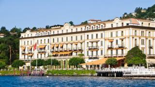 the Villa d'Este hotel on Lake Como
