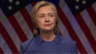 Hillary Clinton alitunukiwa heshima na wakfu wa Children's Defense Fund katika Newseum mjini Washington DC