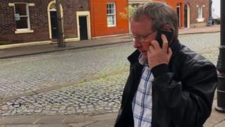 David Stevenson outside Carlisle Crown Court