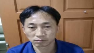 リ・ジョンチョル容疑者は事件から4日後に逮捕された