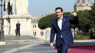 Yunanıstanın Baş Naziri Alexis Tsipras