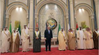 Trump thăm Arabia Saudi