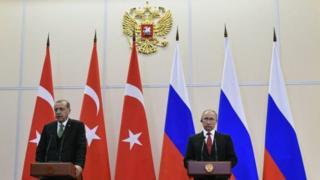 Путін і Ердоган
