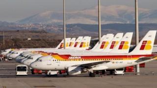 Iberia uçakları