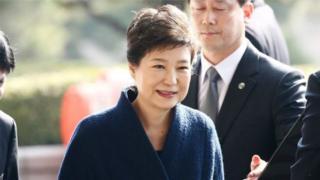 экс-президент Пак Кын Хе