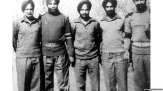 Left: Anant Singh, at center Kanwaljeet Singh.