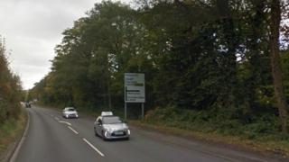 A4059 road