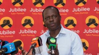 Katibu mkuu wa chama cha Jubilee nchini Kenya Raphael Tuju