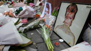 Memorial to David Bowie