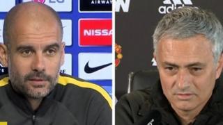 Guardiola da Mourinho