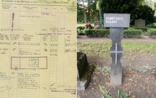 Thompson's missing sheet and his grave
