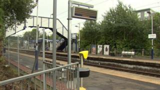 Anniesland train station