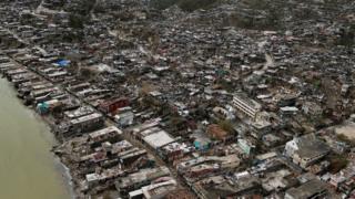 Hurricane ayaa burburisay magaalooyiin badan oo dalka Haiti ku yaalla