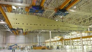 Airbus A380 wing